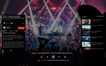 YouTube VR app for Android goes live in the Play Store