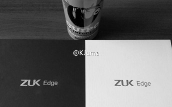 ZUK Edge packaging box leaks online