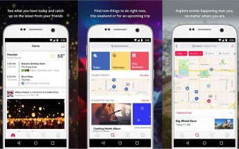 Events from Facebook app is finally available on Android too