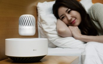 LG announces levitating speaker, to be showcased at CES 2017