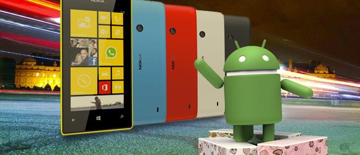 Nokia Lumia 520 boots Android 7 1 Nougat thanks to XDA dev