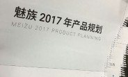 Meizu's 2017 roadmap purportedly leaks