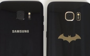 This short clip compares the Samsung Galaxy S7 edge Injustice Edition to the new Black Pearl