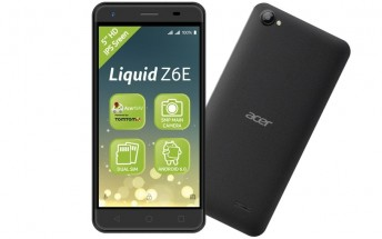 Acer Liquid Z6E turns up out of the blue in the Netherlands
