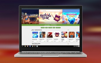 From now on all new Chromebooks will have the Google Play Store