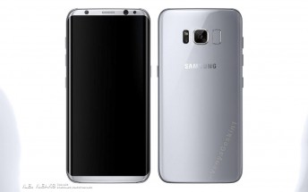 [Update: Nope] Could this be the Samsung Galaxy S8's official press render?