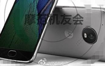 Motorola Moto G5 Plus leaks in a press image