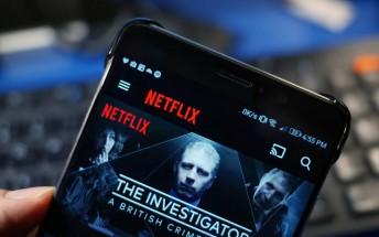 Netflix updated to support SD card storage of offline content