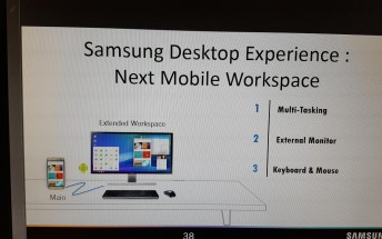 Galaxy S8 to come with Continuum-like feature called Samsung Desktop Experience