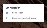 Android 7.1.2 lets you decide where to place live wallpaper