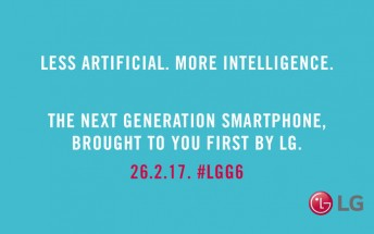 New LG G6 teaser says its intelligence isn't artificial