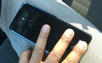 New photo of the LG G6 leaks, reveals shiny back and 'G6' logo
