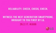 """New LG G6 teaser contains the word """"reliability"""""""