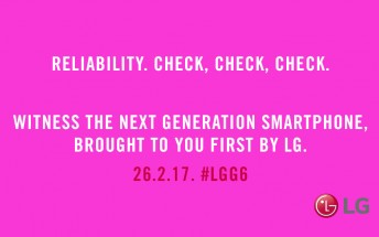 New LG G6 teaser contains the word