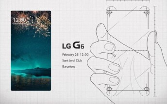LG's MWC event invitation teases the G6 some more