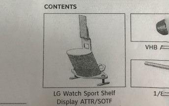 LG Watch Sport for AT&T shows up in leaked document