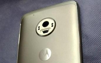 New leak shows Motorola Moto G5 Plus rear panel