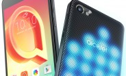 The Alcatel A5 LED has an illuminated back, the A3 and U5 are value-minded
