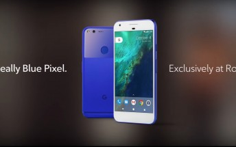 Really Blue Google Pixel is exclusive to Rogers in Canada