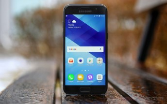 Samsung Galaxy A (2017) series go sale in the UK