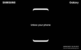 Samsung Galaxy S8 to be unveiled on March 29th