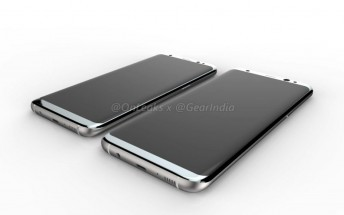 Check out the latest renders of Samsung Galaxy S8