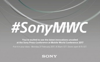 Watch the Sony MWC press event here