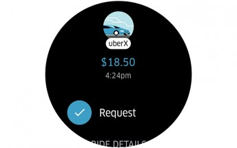 Uber standalone app finally available on Android Wear 2.0