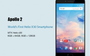 MWC-bound Vernee Apollo 2 to be first with Helio X30, 8GB RAM