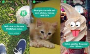 Revamped, auto-expiring WhatsApp Status rolls out to all making it more like Snapchat