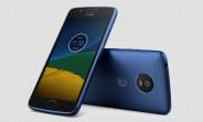 Sapphire Blue Moto G5 goes on sale in UK