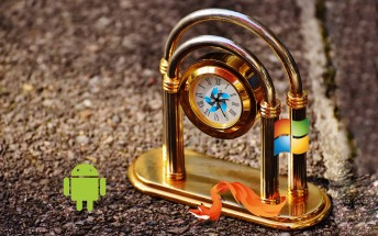 Counterclockwise: HTC HD2 and friends run any OS under the sun