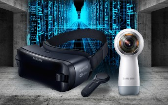 Samsung unveils new Gear VR headset, Gear 360 camera too