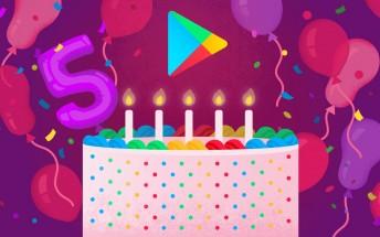 Google Play turns 5
