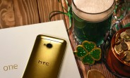 HTC's Pot-O-Gold contest: you can win a gold-plated HTC One from 2013