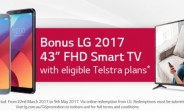 LG G6 pre-orders in Australia include a free 43-inch smart TV