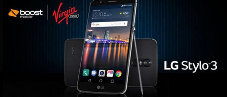 LG Stylo 3 is available today at Boost and Virgin Mobile for
