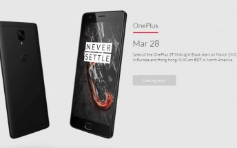 You'll be able to buy a Midnight Black OnePlus 3T tonight