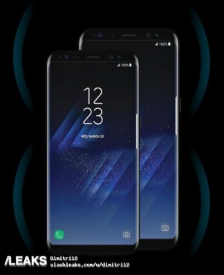More Galaxy S8 and S8+ promo materials