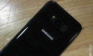 Black Samsung Galaxy S8 leaks in new photos