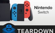 Nintendo Switch gets an iFixit teardown
