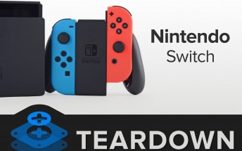 Nintendo Switch gets an iFixit teardown