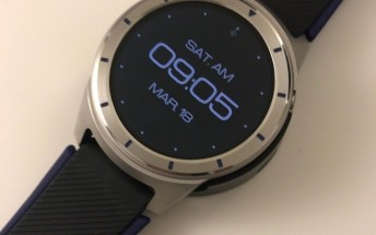 ZTE Quartz smartwatch leaks in live images with Android Wear 2.0 on board