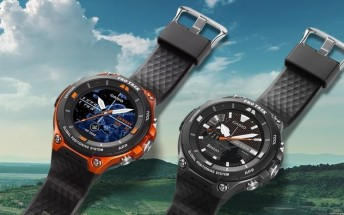 Casio Pro Trek F20 with Android Wear 2.0 is now available for $500
