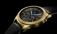 De Billas makes the Samsung Gear S3 classic precious with 24K gold plating