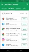 Last used - Google Play Store Update