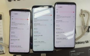 Some Samsung Galaxy S8 users are complaining about reddish tint on display