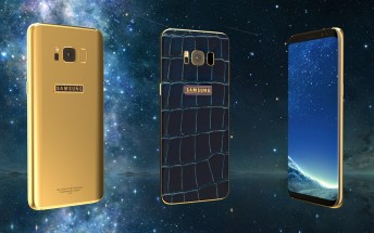Legend will help you deck out a 24K gold plated Galaxy S8 with precious stones