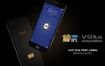 vivo releases V5 Plus limited Indian Premier League edition