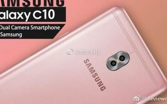 Galaxy C10 leaks, Samsung's first dual-camera smartphone